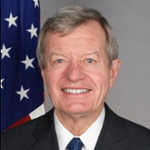Max Sieben Baucus (United States Ambassador to the People's Republic of China)