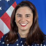 Nancy Abella (Consul General at United States Consulate General in Shenyang.)